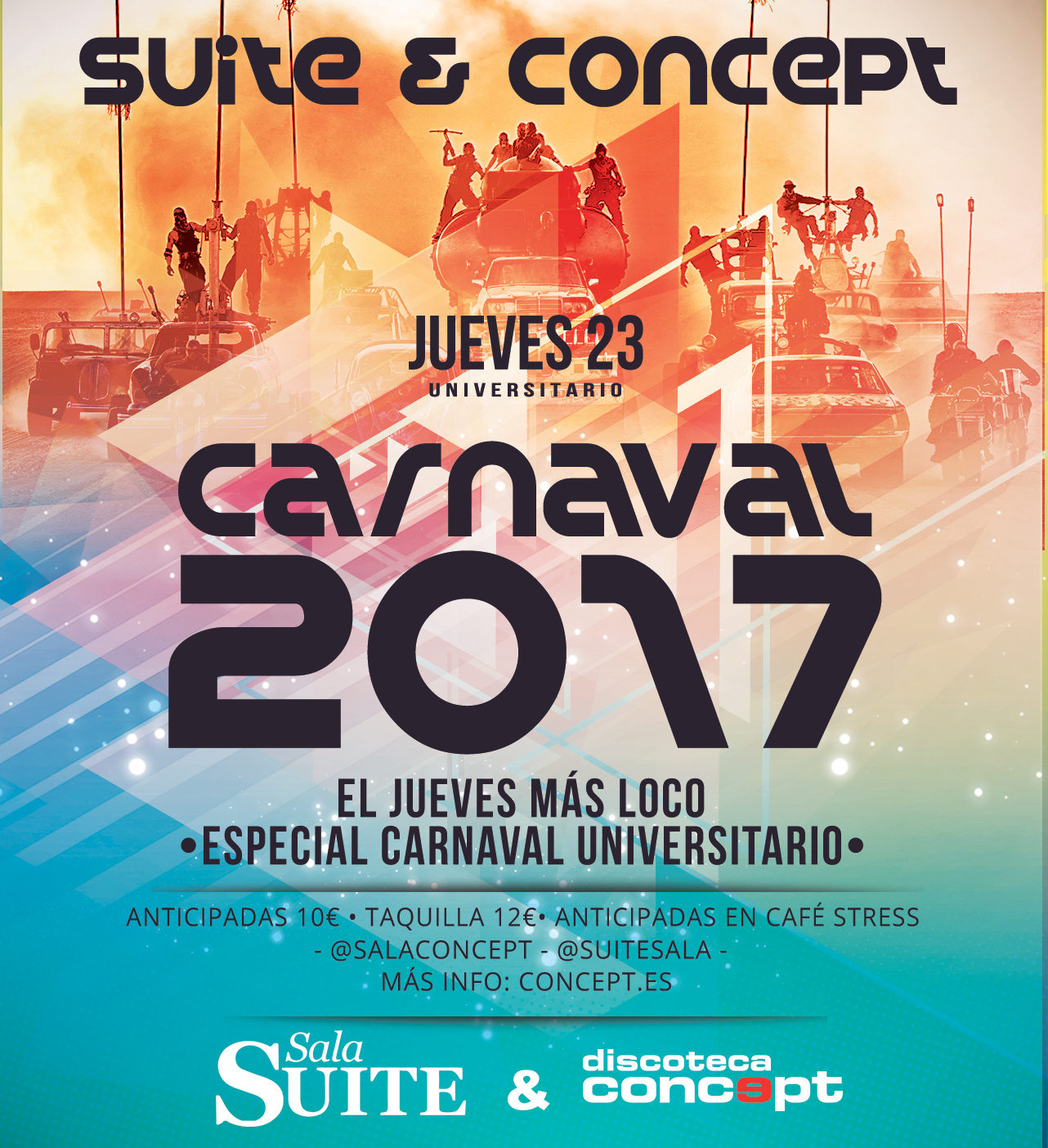 Carnaval Universitario Flyer