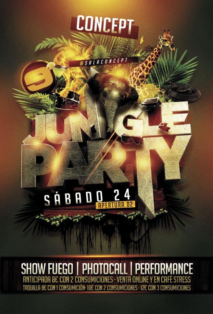 jungle party concept