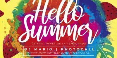 Hello Summer Logroño